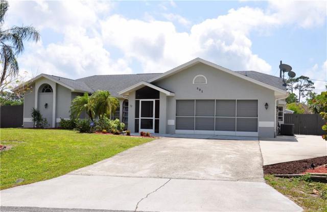 801 Cordele Avenue NW, Port Charlotte, FL 33948 (MLS #C7250360) :: Godwin Realty Group
