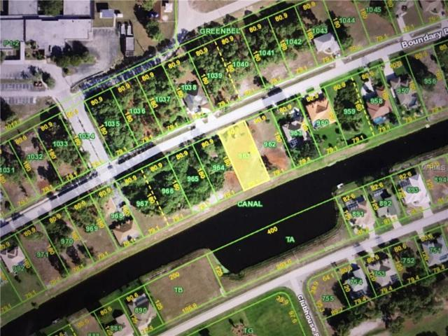 474 Boundary Boulevard, Rotonda West, FL 33947 (MLS #C7251311) :: RE/MAX Realtec Group