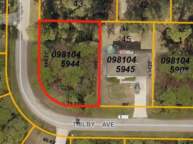 Trilby Avenue, North Port, FL 34286 (MLS #C7251319) :: Medway Realty