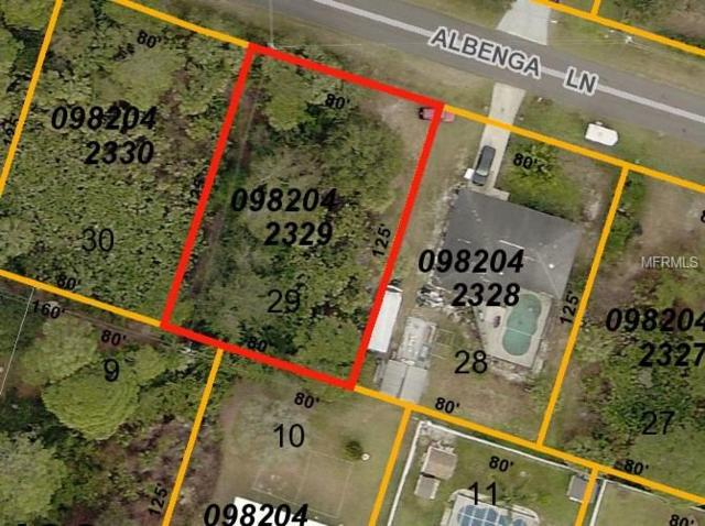 Albenga Lane, North Port, FL 34286 (MLS #C7251322) :: Medway Realty