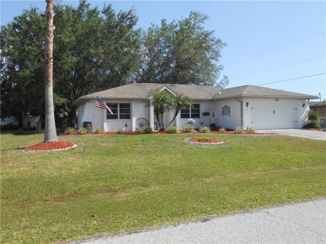 849 Dobell Terrace NW, Port Charlotte, FL 33948 (MLS #C7400155) :: RE/MAX Realtec Group