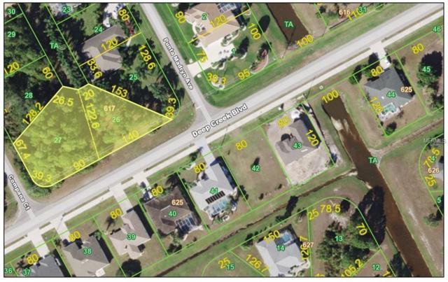 25312 Compana & 25532 Deep Creek Blvd Court, Punta Gorda, FL 33983 (MLS #C7400579) :: Medway Realty