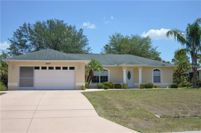 1408 N Lavina Street, North Port, FL 34286 (MLS #C7401186) :: The Duncan Duo Team