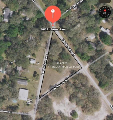 SW Pickens Avenue, Arcadia, FL 34269 (MLS #C7401219) :: The Duncan Duo Team