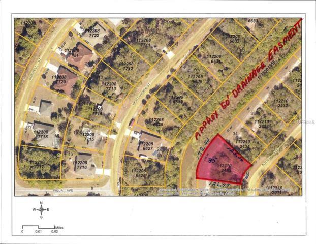 Acosta Avenue, North Port, FL 34288 (MLS #C7401695) :: KELLER WILLIAMS CLASSIC VI