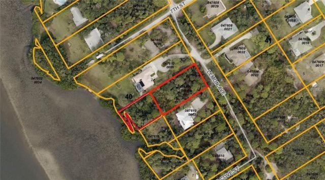 Lots 3 & 10 Lemon Avenue, Englewood, FL 34223 (MLS #C7401886) :: Medway Realty