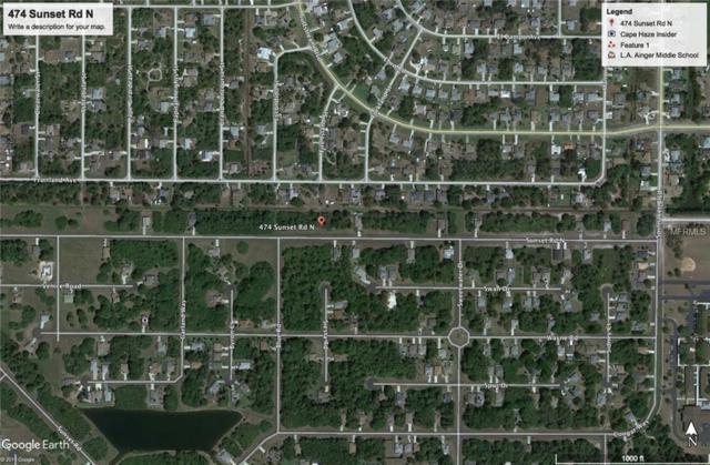 474 Sunset Rd N, Rotonda West, FL 33947 (MLS #C7402317) :: The Price Group