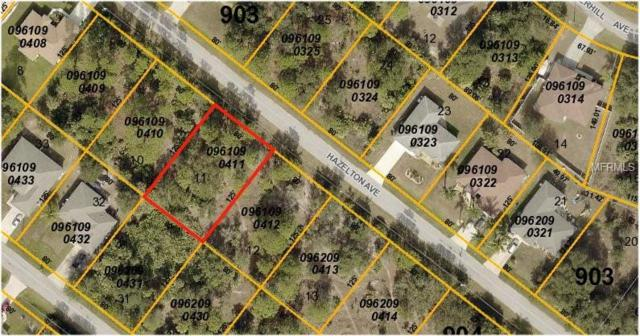 Hazelton Avenue, North Port, FL 34286 (MLS #C7402606) :: Premium Properties Real Estate Services
