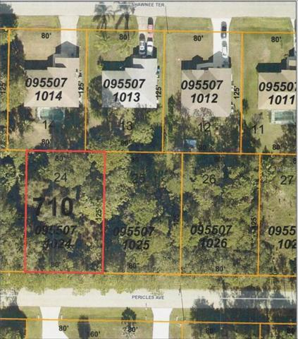 3694 Pericles (Lot 24) Avenue, North Port, FL 34286 (MLS #C7403585) :: Mark and Joni Coulter | Better Homes and Gardens