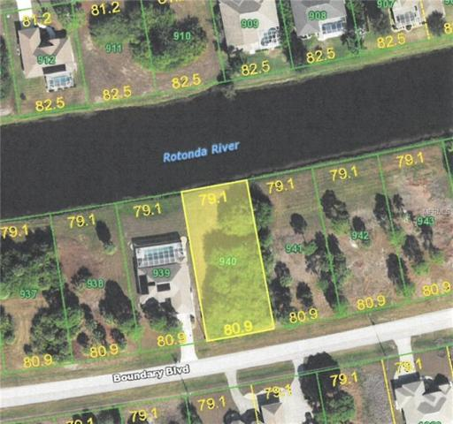 1164 Boundary Boulevard, Rotonda West, FL 33947 (MLS #C7403669) :: G World Properties