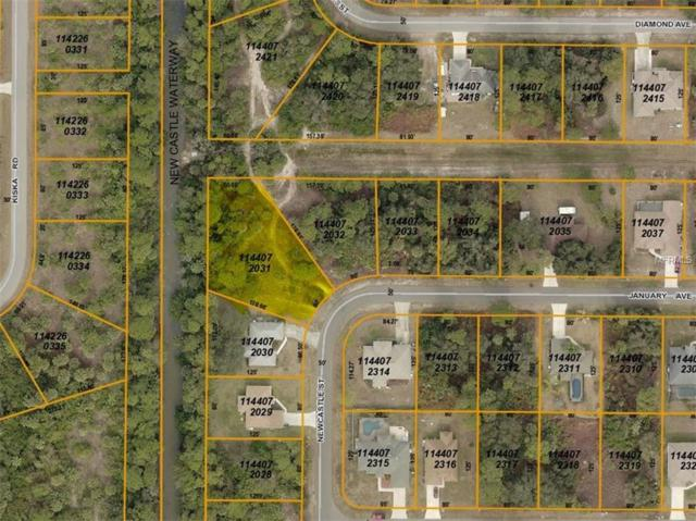 LOT 31 Newcastle Street, North Port, FL 34288 (MLS #C7403991) :: Premium Properties Real Estate Services