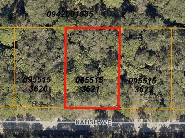 LOT 21 BLK 1536 Kalish Avenue, North Port, FL 34286 (MLS #C7404709) :: Homepride Realty Services
