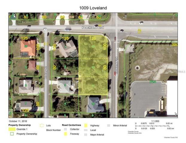 1009 Loveland Boulevard, Port Charlotte, FL 33980 (MLS #C7405227) :: Delgado Home Team at Keller Williams