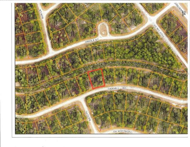 LOT 9 Oakhill Road, North Port, FL 34288 (MLS #C7405333) :: Team Touchstone