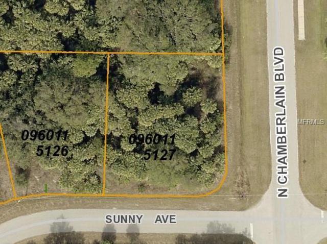 LOT 27 BLK 1151 Sunny Avenue, North Port, FL 34286 (MLS #C7405399) :: G World Properties