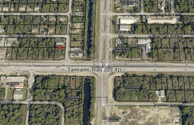 507 Barger Drive, Port Charlotte, FL 33953 (MLS #C7406141) :: Medway Realty