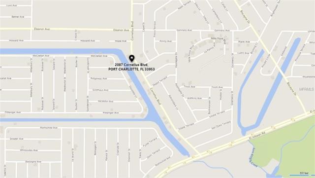 2087 Cornelius Boulevard, Port Charlotte, FL 33953 (MLS #C7406340) :: The Duncan Duo Team