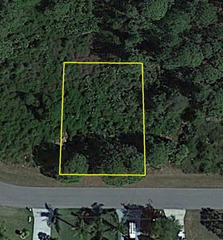 Lot 32 Glover Avenue, North Port, FL 34291 (MLS #C7407275) :: RE/MAX Realtec Group