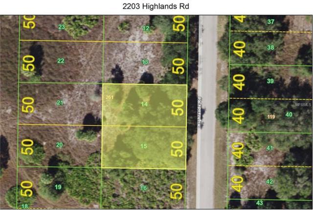 2203 Highlands Road, Punta Gorda, FL 33983 (MLS #C7407793) :: Baird Realty Group