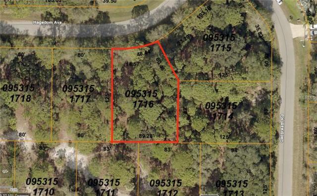 Lot 16 Hagedom Avenue, North Port, FL 34291 (MLS #C7408316) :: SANDROC Group