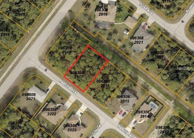 Beeville Avenue, North Port, FL 34286 (MLS #C7409055) :: Premium Properties Real Estate Services