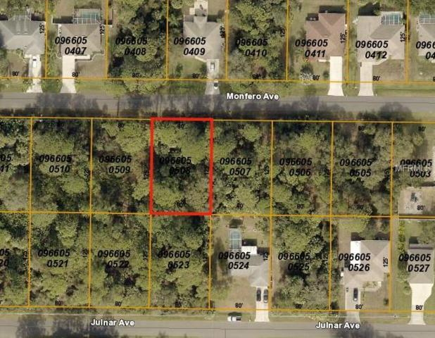 Monfero Avenue, North Port, FL 34286 (MLS #C7409059) :: Griffin Group