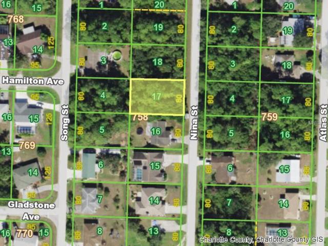 1461 Nina Street, Port Charlotte, FL 33952 (MLS #C7409744) :: Homepride Realty Services