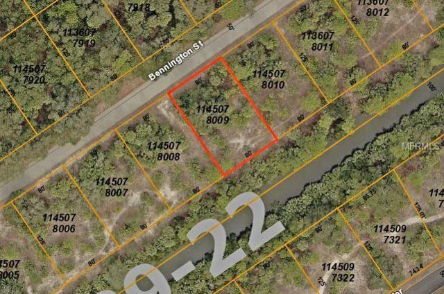 Lot 8 Bennington Street, North Port, FL 34288 (MLS #C7410025) :: Zarghami Group