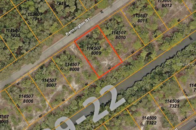 Lot 9 Bennington Street, North Port, FL 34288 (MLS #C7410026) :: Homepride Realty Services