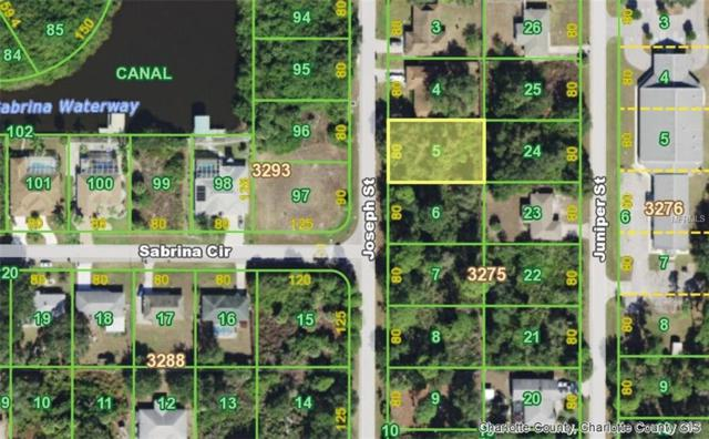4196 Joseph Street, Port Charlotte, FL 33948 (MLS #C7410205) :: Griffin Group