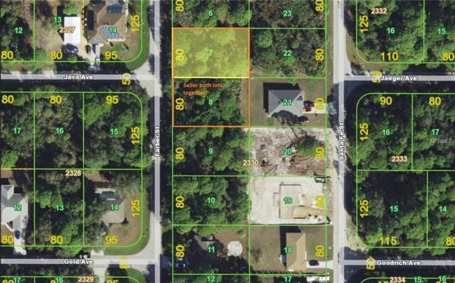 56 & 64 Farber Street, Port Charlotte, FL 33953 (MLS #C7410305) :: Homepride Realty Services