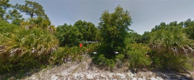 172 Berthoud Street, Port Charlotte, FL 33953 (MLS #C7411071) :: The Duncan Duo Team