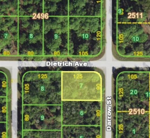 12265 Dietrich Avenue, Port Charlotte, FL 33953 (MLS #C7411201) :: Griffin Group