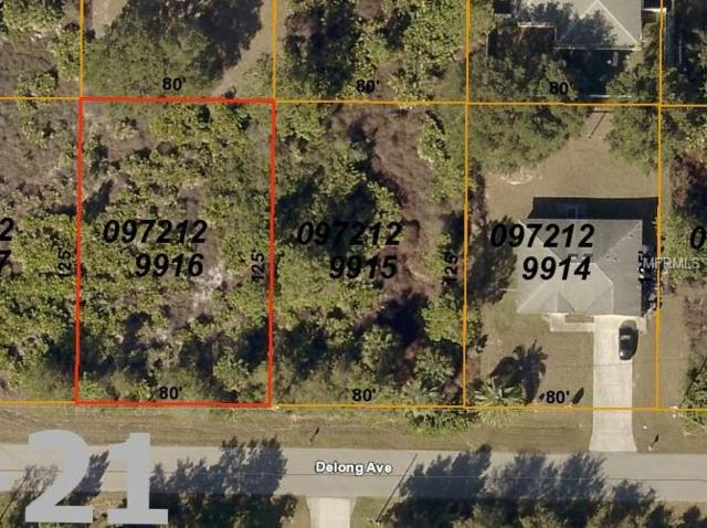 Delong Avenue, North Port, FL 34291 (MLS #C7411424) :: Mark and Joni Coulter | Better Homes and Gardens