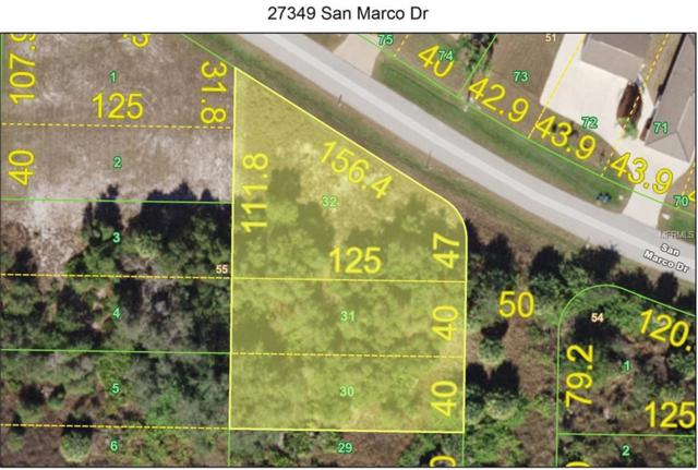 27349 San Marco Drive, Punta Gorda, FL 33983 (MLS #C7411531) :: RE/MAX Realtec Group