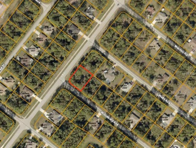 Woodward Avenue, North Port, FL 34286 (MLS #C7412059) :: Sarasota Gulf Coast Realtors