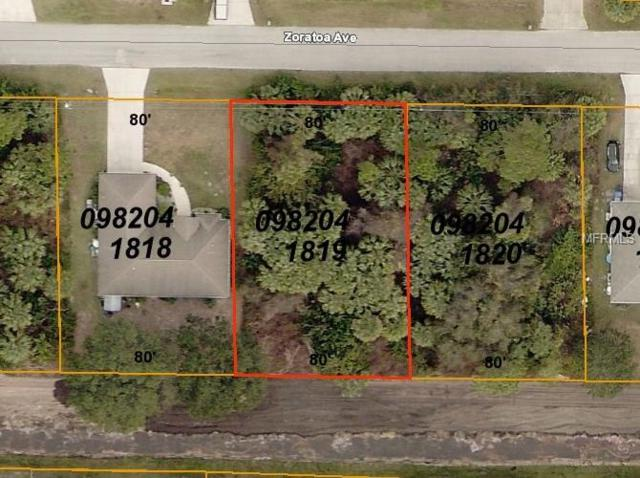 Zoratoa Avenue, North Port, FL 34286 (MLS #C7413450) :: Medway Realty