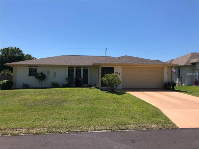 449 Elm Avenue NW, Port Charlotte, FL 33952 (MLS #C7413606) :: Keller Williams Realty Peace River Partners