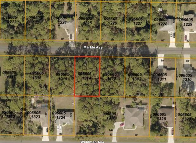 Markle Avenue, North Port, FL 34286 (MLS #C7413627) :: Lovitch Realty Group, LLC