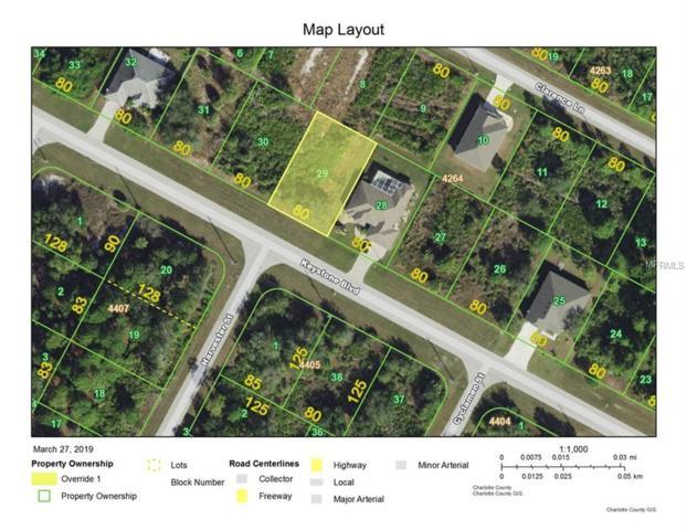 13308 Keystone Boulevard, Port Charlotte, FL 33981 (MLS #C7413704) :: Medway Realty