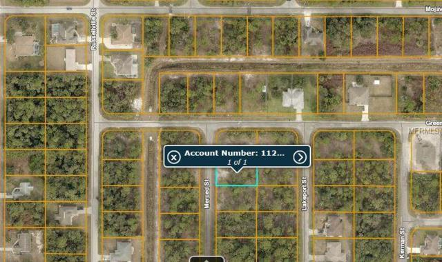 Lot 41 Merced Street, North Port, FL 34288 (MLS #C7413741) :: Medway Realty