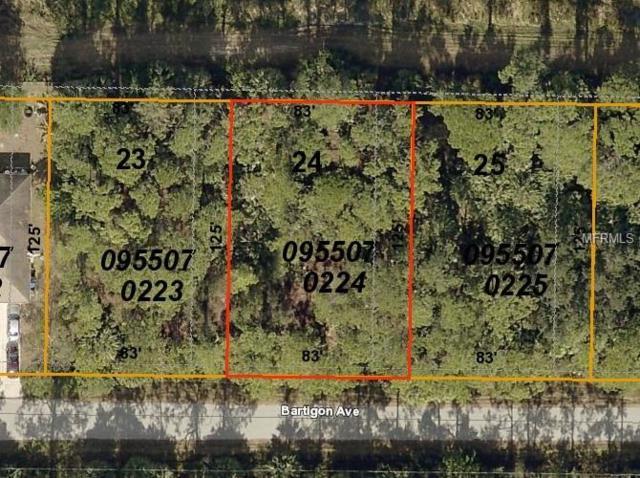 Bartigon Avenue, North Port, FL 34286 (MLS #C7413752) :: Medway Realty