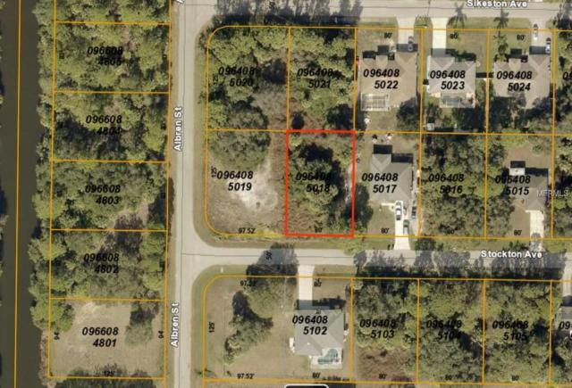 Stockton Avenue, North Port, FL 34286 (MLS #C7413927) :: Medway Realty
