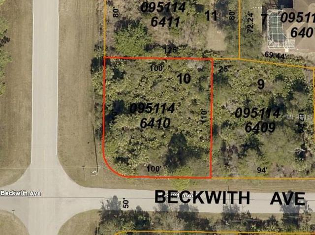 Beckwith Avenue, North Port, FL 34291 (MLS #C7414139) :: The Duncan Duo Team