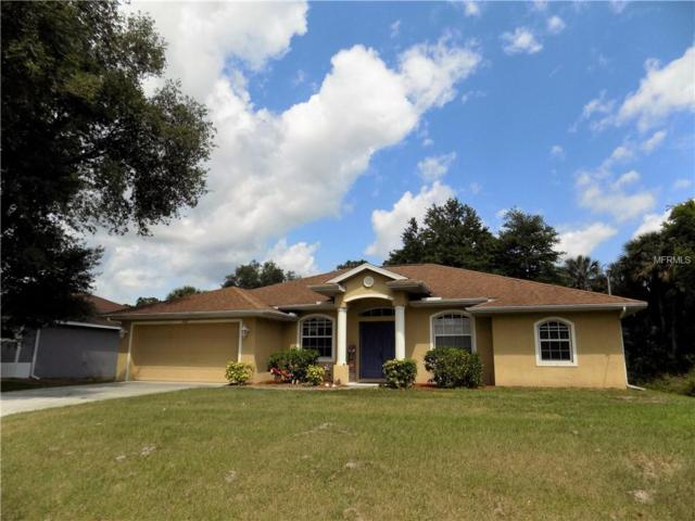 1262 Fitzgerald Road, North Port, FL 34288 (MLS #C7414279) :: Medway Realty