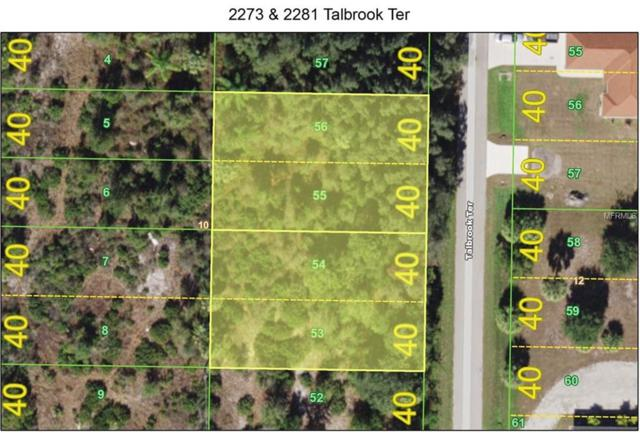 2273 & 2281 Talbrook Terrace, Punta Gorda, FL 33983 (MLS #C7414390) :: Baird Realty Group