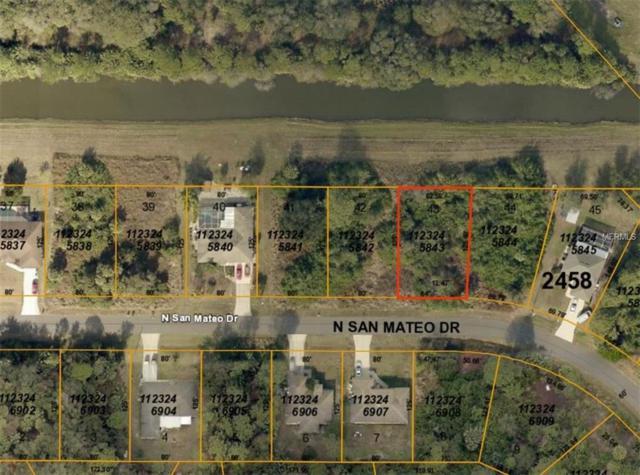 N San Mateo Drive, North Port, FL 34288 (MLS #C7414612) :: Team Bohannon Keller Williams, Tampa Properties
