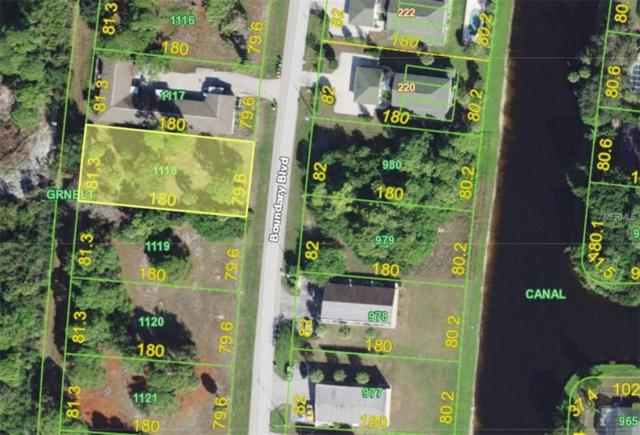 219 Boundary Boulevard, Rotonda West, FL 33947 (MLS #C7414706) :: Burwell Real Estate