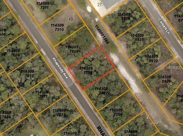 Rhapsody Avenue, North Port, FL 34288 (MLS #C7415529) :: Premium Properties Real Estate Services