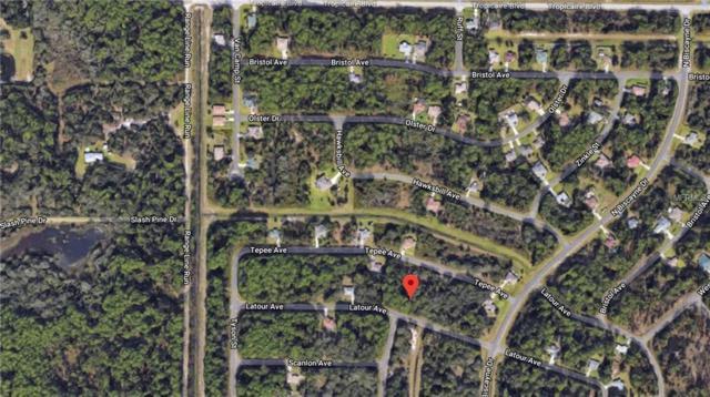 Lot 24 & 25 Latour Avenue, North Port, FL 34291 (MLS #C7415737) :: The Duncan Duo Team